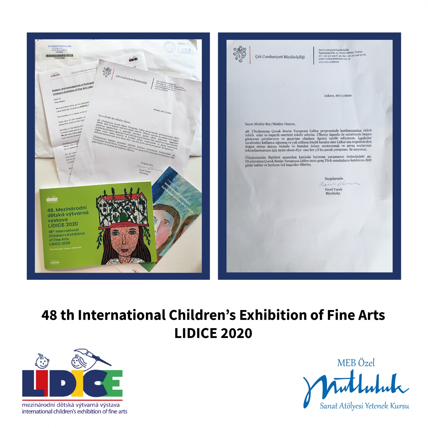 48th International LIDICE Children's Art Competition 2020
